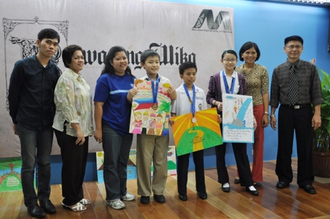 MHSS holds 1st Balagtasan contest among Grades 5, 6 students