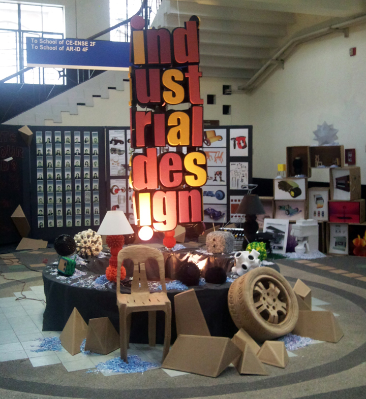 Industrial design students stage annual exhibit for Industrial design news